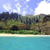 Na Pali Cathedrals & Kalalau beach