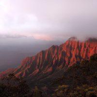 Kalalau Valley Sunset