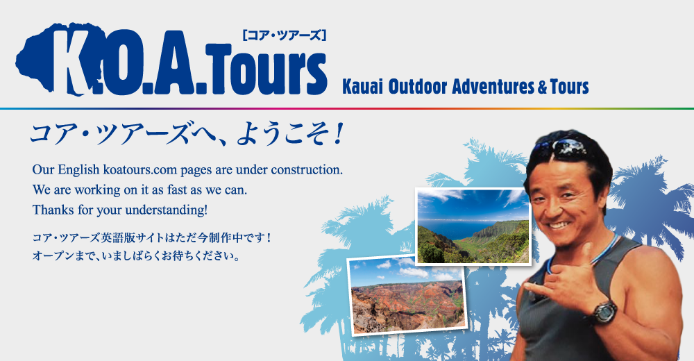 Our English koatours.com pages are under construction. We are working on it as fast as we can. Thanks for your understanding!